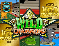 Instant Win Card Selector - Wild Champions